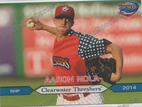 2014 Clearwater Threshers Team Set