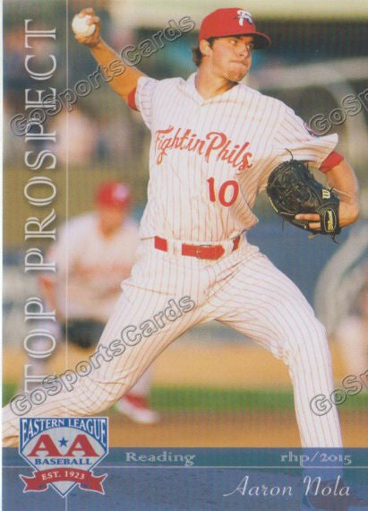 2015 Eastern League Top Prospect Aaron Nola