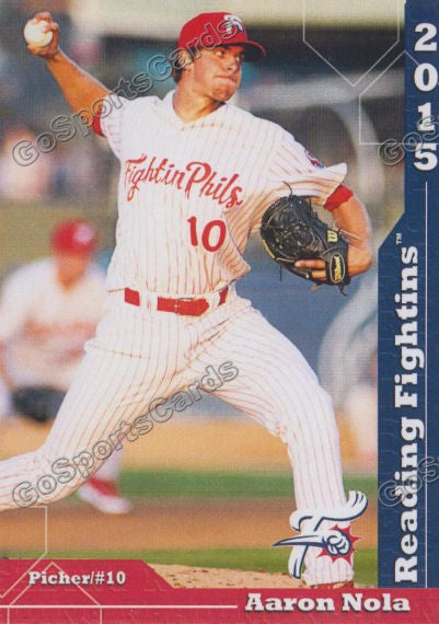 2015 Reading Fightin Phils Update Aaron Nola