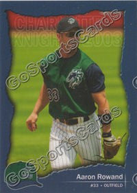 2003 Charlotte Knights Team Set