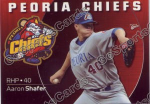 2009 Peoria Chiefs Aaron Shafer