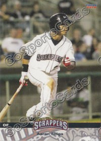 2011 Mahoning Valley Scrappers Aaron Siliga