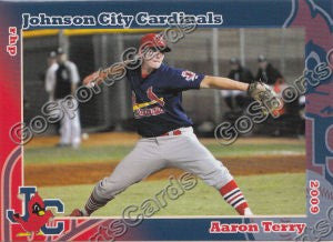 2009 Johnson City Cardinals Aaron Terry