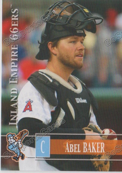 2014 Inland Empire 66ers Abel Baker