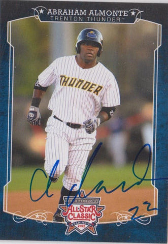 Abraham Almonte 2012 Eastern League All Star (Autograph)