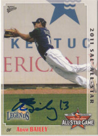 Adam Bailey 2011 South Atlantic League All Star (Autograph)