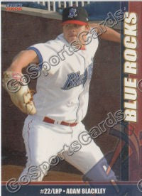 2006 Wilmington Blue Rocks Adam Blackley