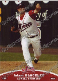 2007 Lowell Spinners Adam Blackley