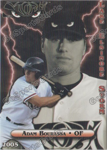 2005 Lake Elsinore Storm Adam Bourassa