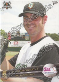 2007 South Atlantic League Top Prospects Adam Cowart