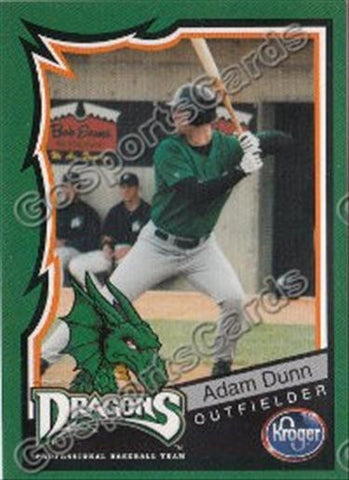 2000 Dayton Dragons Adam Dunn