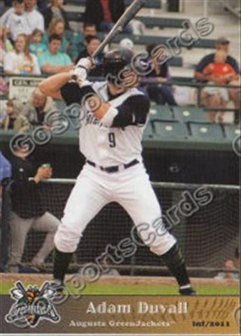 2011 Augusta GreenJackets Team Set