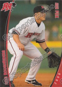 2008 Frisco Roughriders Adam Fox