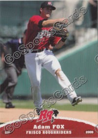 2009 Frisco Roughriders Adam Fox