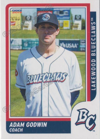 2019 Lakewood BlueClaws Adam Godwin