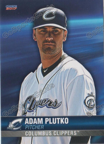 2017 Columbus Clippers Adam Plutko