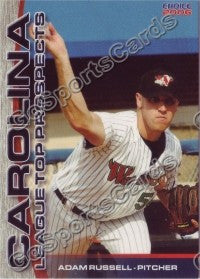 2006 Carolina League Top Prospects Adam Russell
