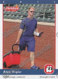 2011 Chattanooga Lookouts Adam Wagner