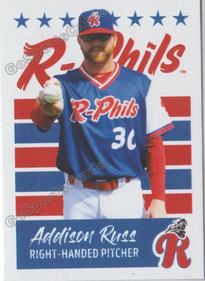 2019 Reading Fightin Phils U3 Addison Russ