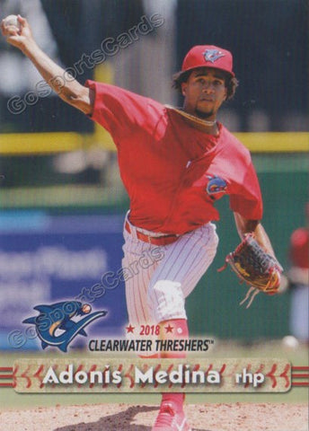 2018 Clearwater Threshers Adonis Medina