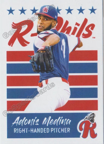 2019 Reading Fightin Phils U3 Adonis Medina