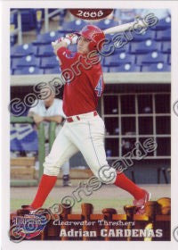 2008 Clearwater Threshers Adrian Cardenas