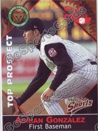 2001 Midwest League Top Prospect Multi-Ad Adrian Gonzalez