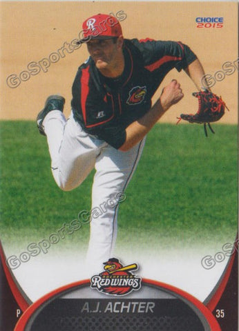 2015 Rochester Red Wings AJ Achter