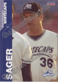 2005 West Michigan WhiteCaps AJ Sager