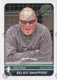 2012 Beloit Snappers Alan Rail