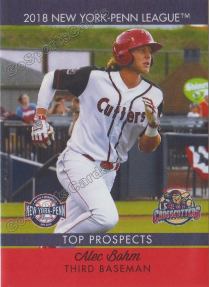 2018 New York Penn League Top Prospects NYPL Alec Bohm