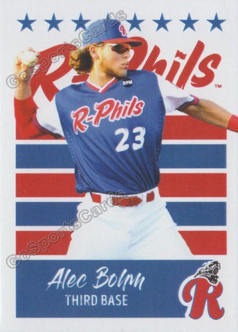 2019 Reading Fightin Phils U3 Alec Bohm