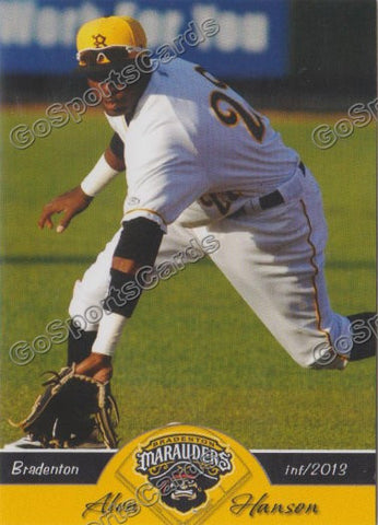 2013 Bradenton Marauders Team Set