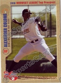 2010 MidWest League Top Prospects Alexander Colome