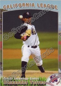 2009 California League All Star Alex Alexander Torres