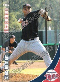 2006 Elizabethton Twins Alex Burnett