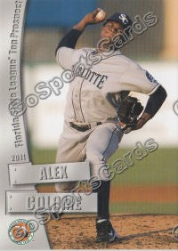 2011 Florida State League Top Prospects Alexander Alex Colome