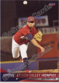 2010 Lehigh Valley IronPigs Alex Concepcion