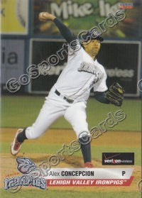 2010 Lehigh Valley IronPigs Update Alex Concepcion