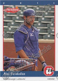2011 Chattanooga Lookouts Alex Garabedian