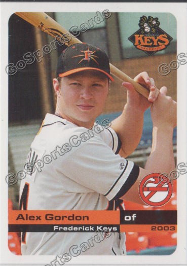 2003 Frederick Keys SGA Alex Gordon