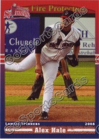 2008 Lowell Spinners Alex Hale