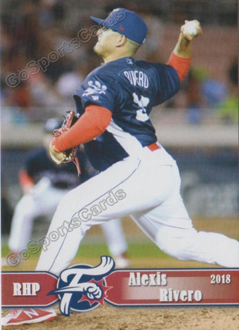 2018 Reading Fightin Phils Alexis Rivero