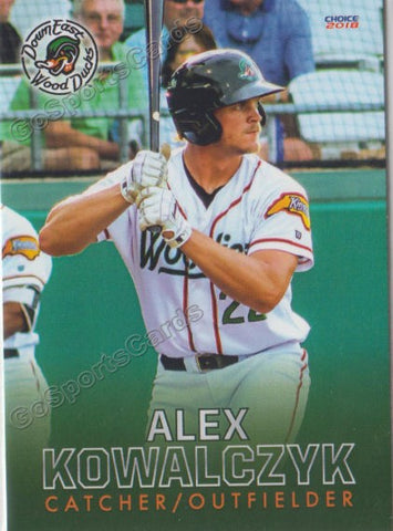 2018 Down East Wood Ducks Alex Kowalczyk