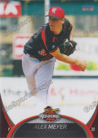 2015 Rochester Red Wings Alex Meyer