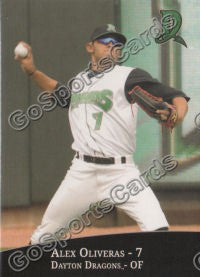 2010 Dayton Dragons Alex Oliveras