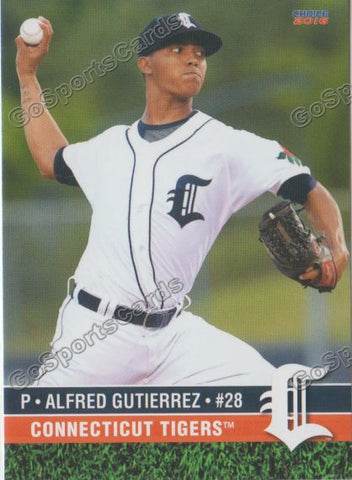 2016 Connecticut Tigers Alfred Gutierrez