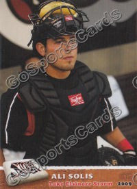 2009 Lake Elsinore Storm Ali Solis