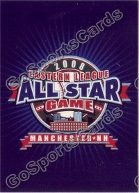 2007 New Hampshire Fisher Cats All Star Card
