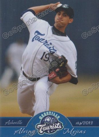 2013 Asheville Tourists Alving Mejias